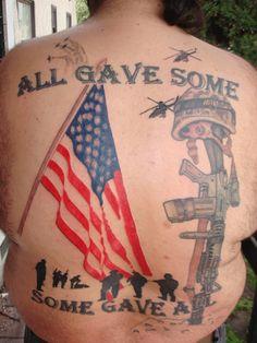 1428c2ecf262 American flag tattoo - 25 Awesome American Flag Tattoo Designs  lt 3 !  Great Tattoos