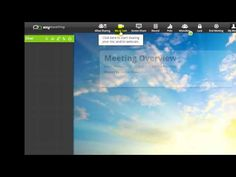 AnyMeeting Free Web Conferencing and Online Meetings Interface Overview