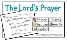 The Lord's Prayer File Folder Game