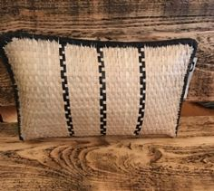 Palm Woven Nekisiwe Cushion