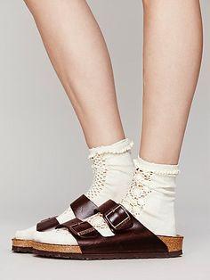 Arizona Soft Footbed Birkenstock with socks