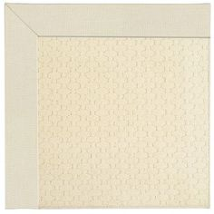Capel Zoe Beige Area Rug Rug Size: Square 10'