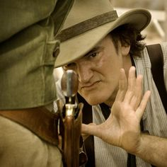 Quentin Tarantino, Django Unchained behind the scene image