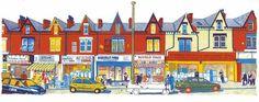 Harehills Lane - Giclee art print £30.00
