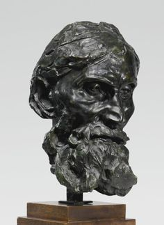 Pierre-One of the Burghers of Calais-Other Auguste Rodin Sculptures at the Carnegie Museum of Art Auguste Rodin, Abstract Sculpture, Bronze Sculpture, Metal Sculptures, Wood Sculpture, Carnegie Museum Of Art, Art Museum, Carpeaux, Oil Pastel Art