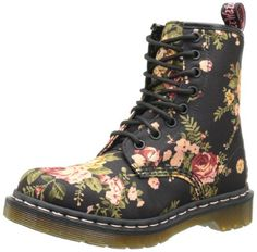 Dr. Martens Women's 1460 Re-Invented Victorian Print Lace Up Boot -  	     	              	Price: $  130.00             	View Available Sizes & Colors (Prices May Vary)        	Buy It Now      DR MARTENS 8 EYE BOOT   Women's canvas work boot Lace up closure 8 eye shoelace hole detail Durable airware rubber sole    Customers Who Viewed This Item Also...