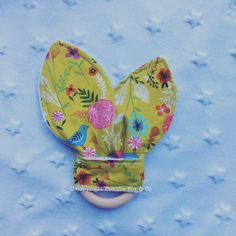 Bunny Ears Teether Taggie Dreamcatchers Mint 100% Cotton Sales Of Quality Assurance Baby Toys (0 - 12 Months)
