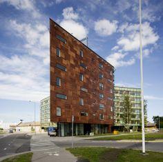 HGA - Apartment Building in Lootsi Street, Tallinn, Estonia #housing #residential #apartments