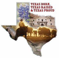 wasn't born in Texas, although my parents and two brothers are true Texans. I'm a transplanted Texan. New Orleans Recipes, Only In Texas, Texas Shirts, Texas Forever, Texas Pride, Southern Pride, Southern Belle, Southern Living, Loving Texas