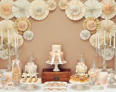 Vintage Wedding Guest Dessert Feature