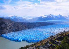 Lago Grey in Torres del Paine National Park