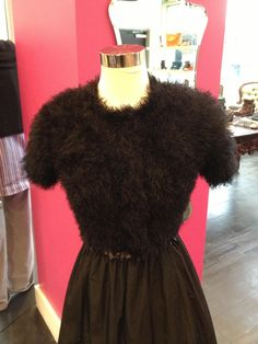 For frequent feelings of frigidness, how about covering up your fab Frock with a fantastic faux bolero. Fantastic Faux Bolero from Plenty!
