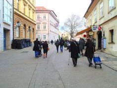 Tkalčićeva street Croatia, Street View