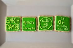 Earth Day Shortbread Cookies - Craft Fiesta #earthday #crafts #earthdaycrafts Earth Day Crafts, Love The Earth, Arbour Day, Decorative Borders, Happy Earth, Shortbread Cookies, Love Photos, Green Day, Sustainable Living