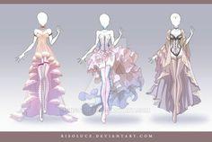 Эскизы платьев   Clothing inspiration