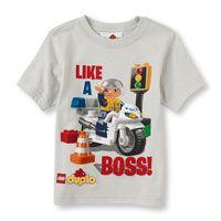 Lego duplo boss graphic tee