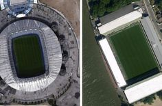 Can You Identify These British Football Stadiums From Google Earth?