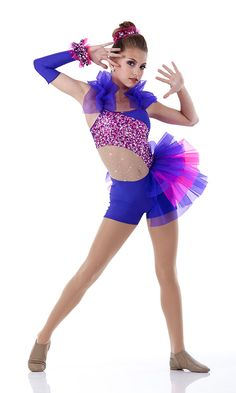 This is a really cute costume probably a acro dance to the song lips are  movin by Meghan Trainor