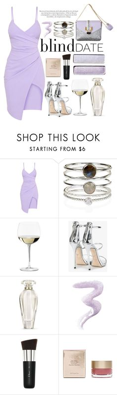 """Dress to Impress: Blind Date"" by julijana-k ❤ liked on Polyvore featuring Accessorize, Riedel, Giuseppe Zanotti, Victoria's Secret, Topshop, Christian Dior, Stila, DateNight, dress and shoes"