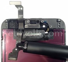 iPhone 6 Front Panel, Power Button, and Mute Switch Shown in High-Quality Photos