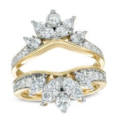 1-1/2 CT. T.W. Diamond Solitaire Enhancer in 14K Gold
