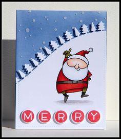 Back to making Christmas cards! #mftstamps #simonsaysstamps