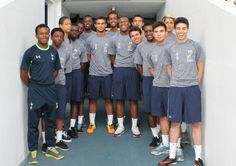 Haringey sixth form students on trial at Spurs as Futsal Academy gets a leg-up with visit to Spurs Stadium - 2013.
