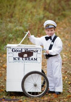 Lindsay: This costume was inspired by the fact that we live just down the street from our real-life neighborhood ice cream man. My children are endlessly fascinated by him and they...