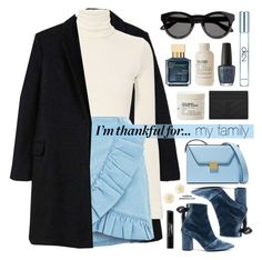 """I'm Thankful For..."" by mylkbar ❤ liked on Polyvore featuring MANGO, self-portrait, Givenchy, Le Labo, Yves Saint Laurent, OPI, John Lewis, Smashbox, Victoria Beckham and Calvin Klein"