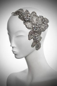 acacia bridal headdresss III silver jenny packham