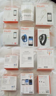 Glucose Monitors: Lot Of 6 Ihealth Products~Wireless Sleep Tracker~Glucose~Blood Pressure~New! BUY IT NOW ONLY: $95.0