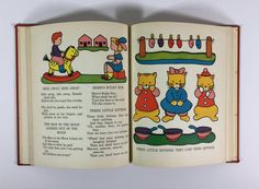 This book is titled Mother Goose Rhymes ..by Platt & Munk ..illustrated by Margot Austin ..loaded with beautiful illustrations!! Dated 1940