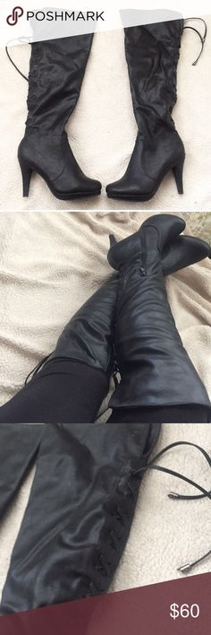 Over the Knee boots No flaws Faux leather dream pairs Shoes Over the Knee Boots