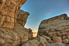 Photographer: Mathieu Young | The Big Rock in Okotoks, Alberta Been there done that.