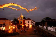 Cartagena, Colombia, Plaza Santa Teresa from the city walls