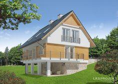 Projekty domów LK Projekt LK&814 zdjęcie 2