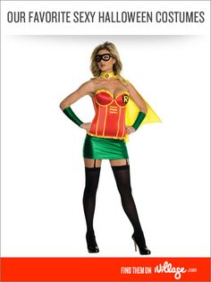 Our Favorite Sexy Halloween Costumes #halloween