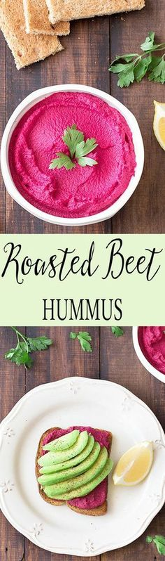 Roasted beetroots, with their subtle sweetness, add a delicious twist to the traditional hummus! – I Quit Sugar