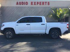 Window Tint on a 2015 Toyota Tundra #AudioExpertsVentura #AudioExperts #AudioVideo #CarStereo #StereosVentura #Ventura #VenturaCA #VenturaCalifornia #California #CustomAudio #WindowTint #Toyota #Tundra #ToyotaTundra