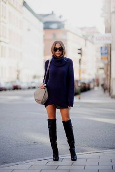 Perfect And Modest Winter Outfits Ideas With Knee High Boots; Modest Winter Outfits, Casual Outfits For Girls, Adrette Outfits, Preppy Outfits, Girly Outfits, Classy Outfits, Stylish Outfits, Beautiful Outfits, Fashion Outfits