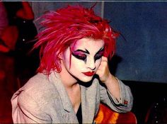 OMG! I had this poster hanging in my room as a teen...Nina Hagen
