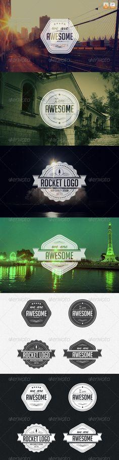 Logo Badges - Badges & Stickers Web Elements