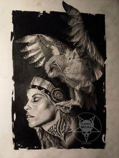 the owl by AndreySkull.deviantart.com on @DeviantArt