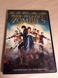Pride + Prejudice + Zombies (DVD) Lily James Sam Riley