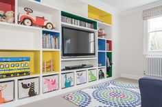 Playroom designed by Talia Cobbold Melrose Terrace