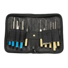 Features:      This item is in high quality and exquisite workmanship from China Manufacturer of Precision Locksmith Supplies & Fine Tools.  Computer Combination Quick Opening 18pcs      Package includes:    1 set of dimple Lock Pick Tools