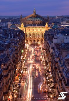 Opéra Garnier from Louvre @ Blue Hour Paris France Places Around The World, The Places Youll Go, Places To Go, Around The Worlds, Gran Canaria Hotel, Rio Sena, Paris Opera House, Ville France, France Photos