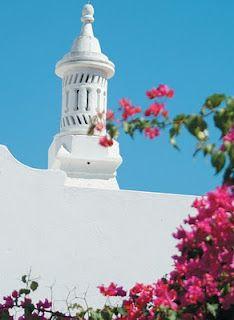 Algarve - Cheminés tradicionais (traditional chimneys), Portugal