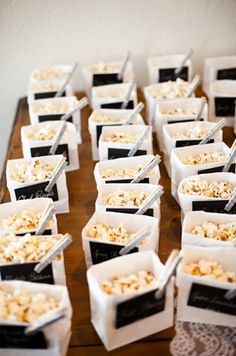 Popcorn/Business cards