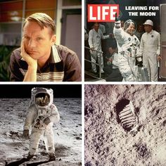 """""""One small step for man, one giant leap for mankind"""" - Neil Armstrong (1930-2012).  The universe got a little bit smaller after that..."""